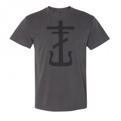 Cross Faded Black | T-Shirt