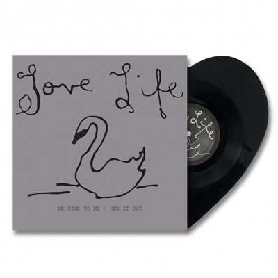 Love Life - Hex It Out | 10 Inch Heart Shaped Vinyl