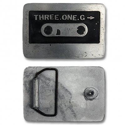 Three One G - Cassette | Belt Buckle