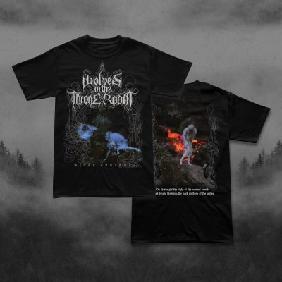 wolves-in-the-throne-room - Black Cascade | T-Shirt