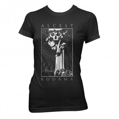 alcest - Faces/Skull | Fitted Girl T-Shirt