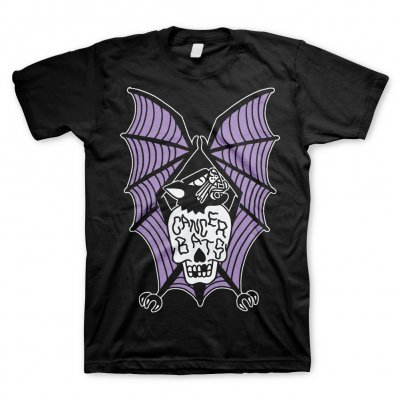 cancer-bats - Purple Bat | T-Shirt