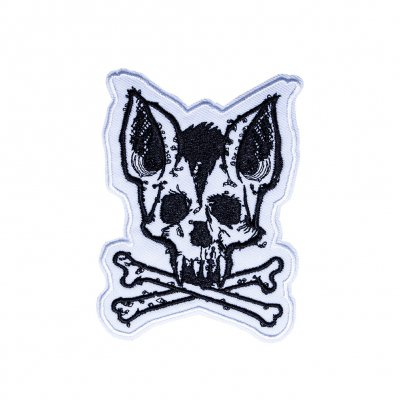 Skull Bat | Embroidered Patch