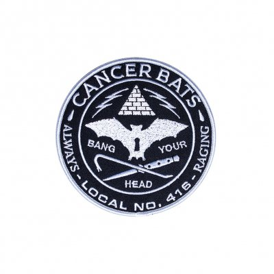 cancer-bats - Bang Your Head | Embroidered Patch