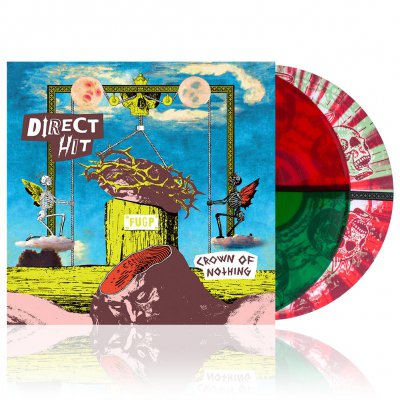 Direct Hit - Crown of Nothing | Colored Vinyl+Slipmat
