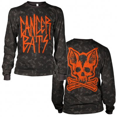 Cancer Bats - Camo Bat | Longsleeve