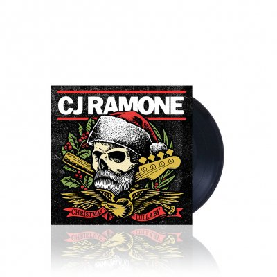 CJ Ramone - Christmas Lullaby | Black 7 Inch