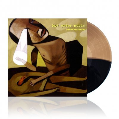 Hot Water Music - Forever And Counting | Black/Gold Vinyl