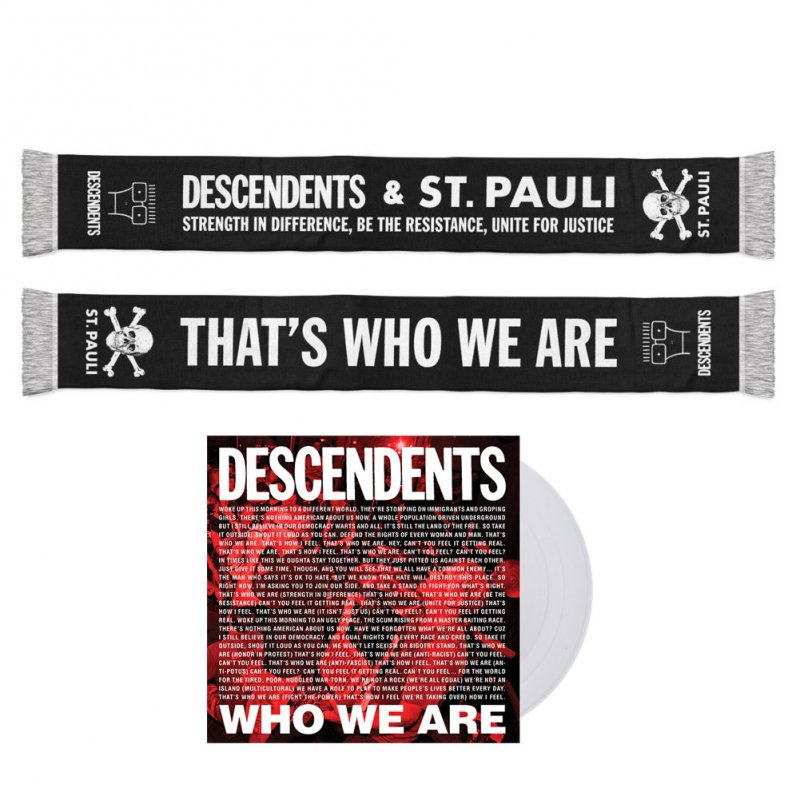 Descendents - Who We Are | 7 Inch+Scarf Bundle