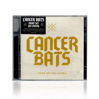Cancer Bats - Dead Set On Living | CD+DVD