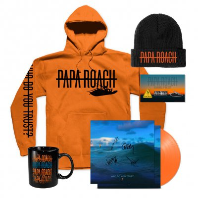 Papa Roach - Winter | Orange Vinyl Bundle
