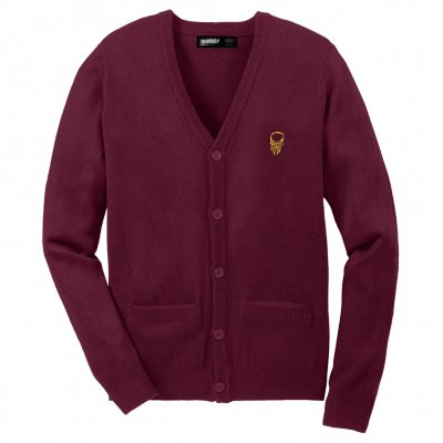 shop - LWW Burgundy | Cardigan
