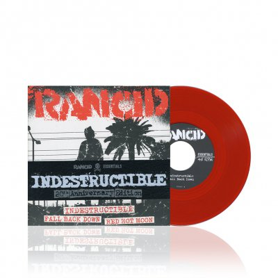 Rancid - Indestructible | Blood Red 7 Inch Album Pack