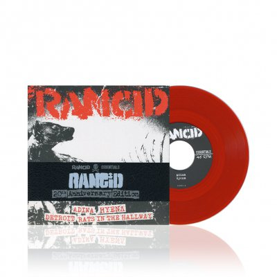 rancid - S/T | Blood Red 7 Inch Album Pack