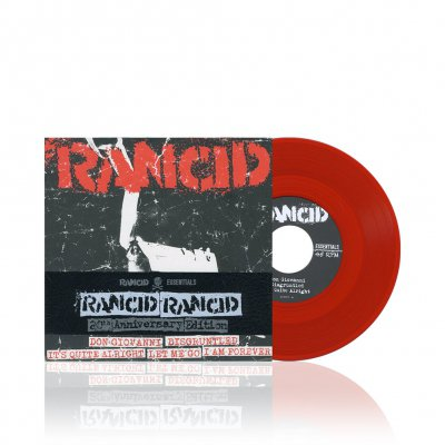 Rancid - Rancid | Blood Red 7 Inch Album Pack