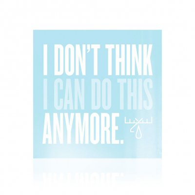 I Don't Think I Can Do This Anymore | CD