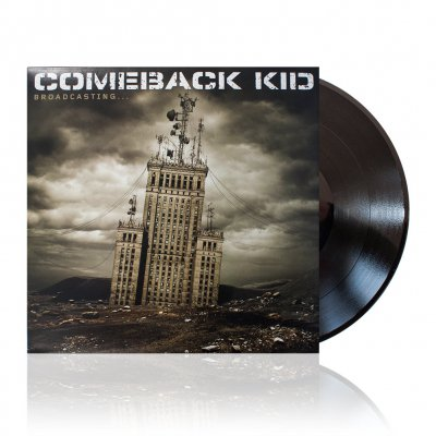 Comeback Kid - Broadcasting | Black Vinyl