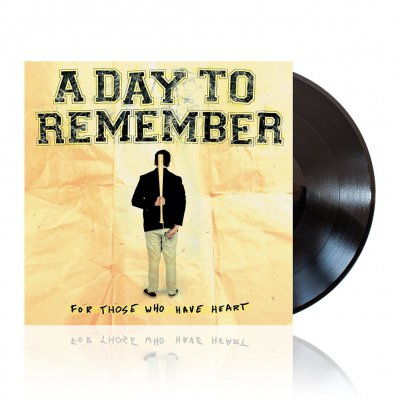 a-day-to-remember - For Those Who Have Heart | Black Vinyl