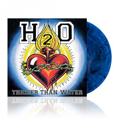 h2o - Thicker Than Water | Blue w/Smoke Vinyl