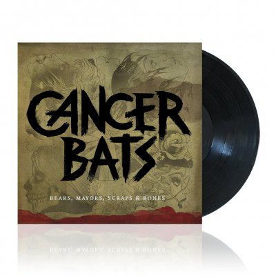 cancer-bats - Bears, Mayors, Scraps & Bones | Black Vinyl