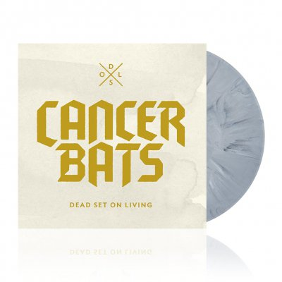 cancer-bats - Dead Set On Living | Grey Marble Vinyl