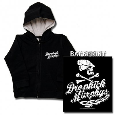 Dropkick Murphys - Scally Skull Ship | Kids Zip-Hood