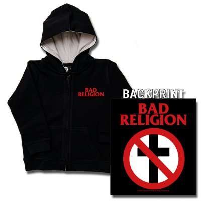 Bad Religion - Cross Buster | Kids Zip-Hood