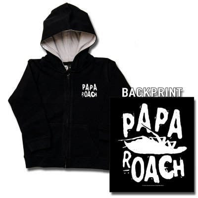 shop - Logo/Roach | Kids Zip-Hood