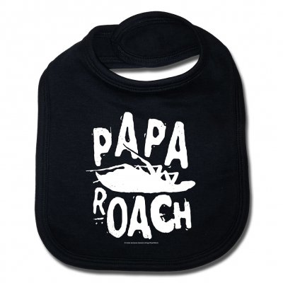 papa-roach - Logo/Roach | Baby Bib