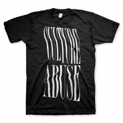 culture-abuse - Logo White | T-Shirt
