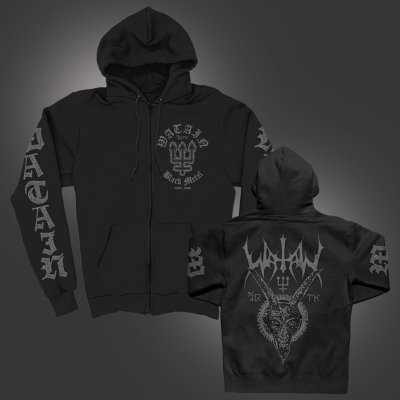 watain - Fire Trident | Zip-Hood