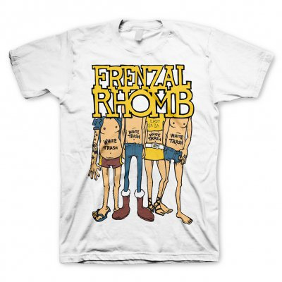 Frenzal Rhomb - White Trash | T-Shirt