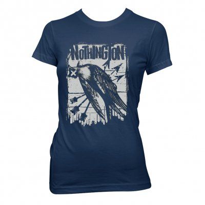 nothington - Arrows | Fitted Girl T-Shirt