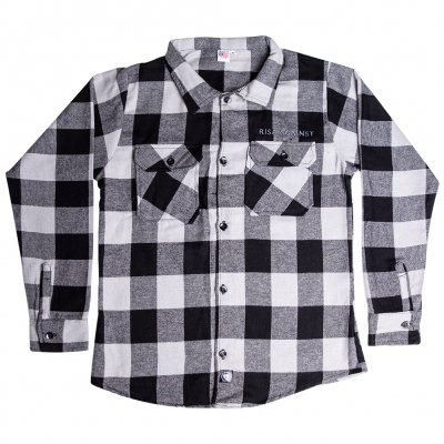 rise-against - Logo Grey | Flannel