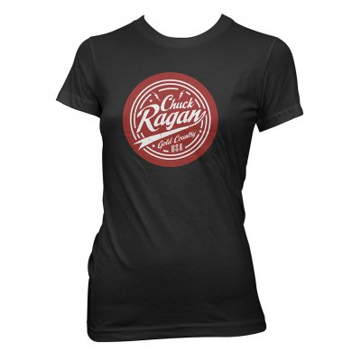 Chuck Ragan - Script | Girl Fitted T-Shirt