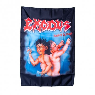 exodus - Bonded By Blood | Poster Flag