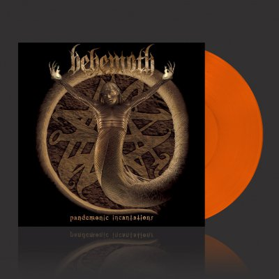 shop - Pandemonic Incantations | Orange Vinyl