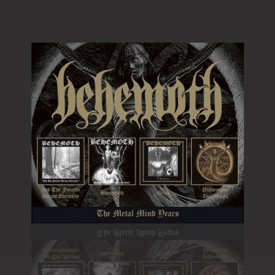 behemoth - The Metal Mind Years | CD Box Set