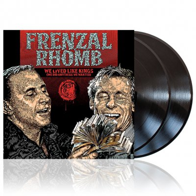 Frenzal Rhomb - We Lived Like Kings | 2xBlack Vinyl