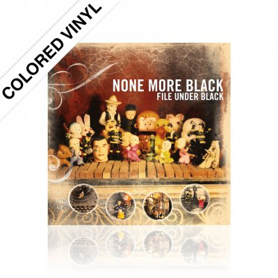 None More Black - File Under Black | Colored Vinyl