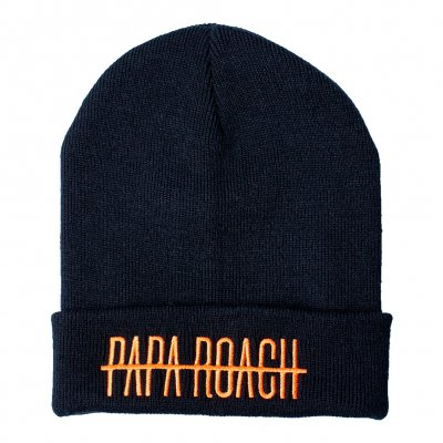 papa-roach - WDYT Orange Logo| Knit Beanie