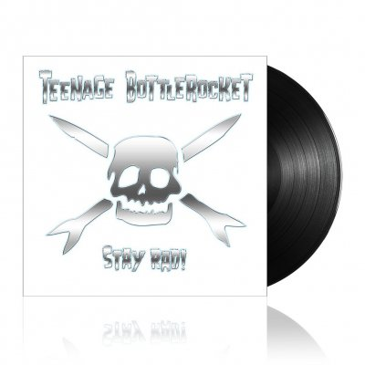 Teenage Bottlerocket - Stay Rad! | Black Vinyl