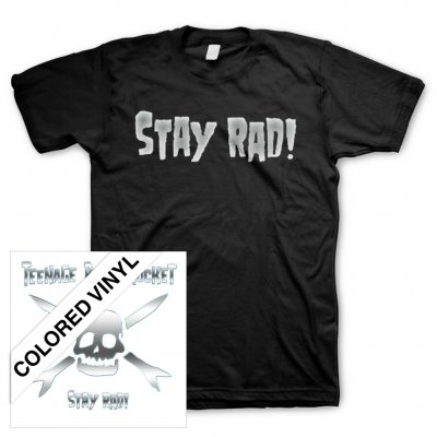 Teenage Bottlerocket - Stay Rad! | Colored Vinyl + T-Shirt Bundle