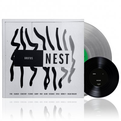 shop - Nest | Clear Vinyl + 7 Inch