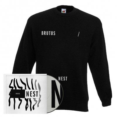 brutus - Nest | CD + Sweatshirt