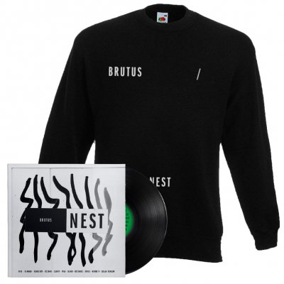 Brutus - Nest | Black Vinyl + Sweatshirt