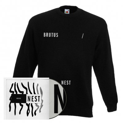 brutus - Nest | CD + Sweatshirt