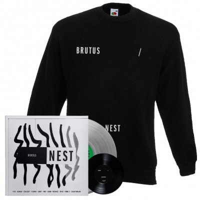 shop - Nest | Clear Vinyl + 7 Inch + Sweatshirt