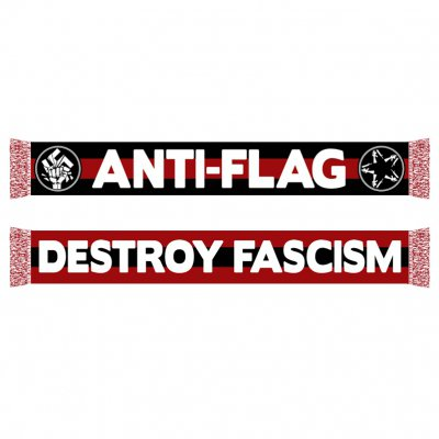 anti-flag - Destroy Fascism Red | Scarf