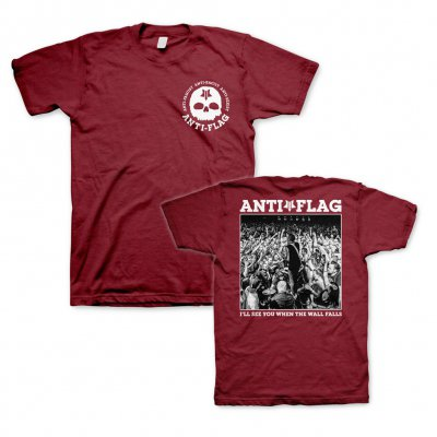 anti-flag - Wall Falls HxC | T-Shirt